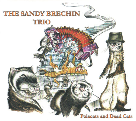 cover image for The Sandy Brechin Trio - Polecats And Dead Cats