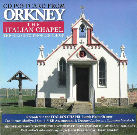 cover image for The Glasgow Phoenix Choir - CD Postcard from Orkney