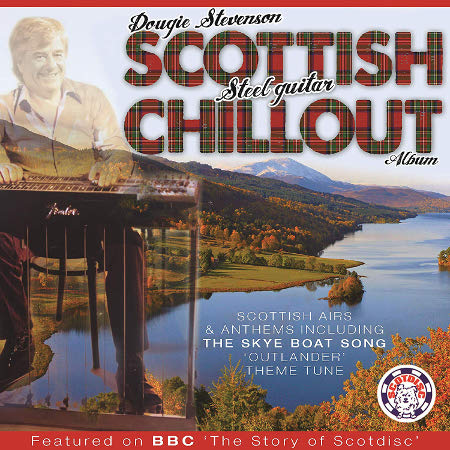 cover image for Dougie Stevenson - Steel Guitar Scottish Chillout