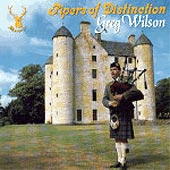 cover image for Pipers of Distinction - Greg Wilson