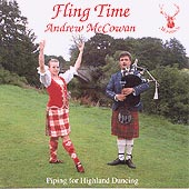 cover image for Andrew McCowan - Fling Time vol 1