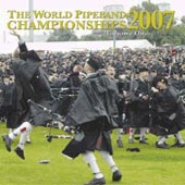 cover image for The World Pipe Band Championships 2007 vol 1 CD