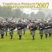 cover image for The World Pipe Band Championships 2007 vol 2 CD