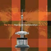 cover image for The World Pipe Band Championships 2009 vol 2 CD