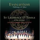 cover image for St Laurence O'Toole Pipe Band - Evolution