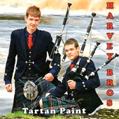 cover image for Harvey Bros - Tartan Paint