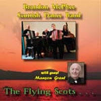 cover image for Brandon McPhee Scottish Dance Band - The Flying Scots CD