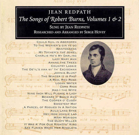 cover image for Jean Redpath - Songs of Robert Burns vols 1 and 2