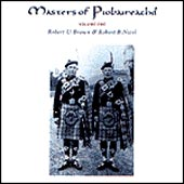 cover image for Brown and Nicol - Masters of Piobaireachd vol 1