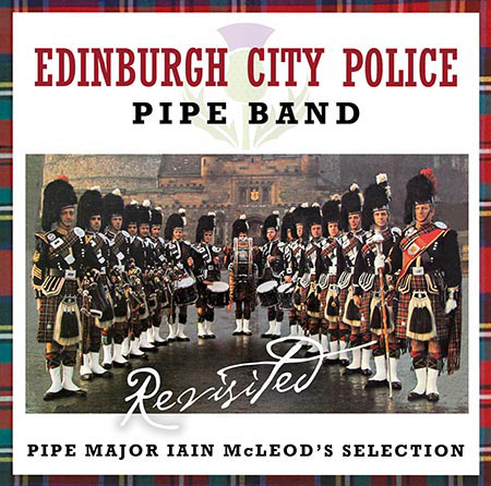 cover image for Edinburgh City Police Pipe Band - Revisited