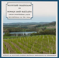 cover image for Scottish Tradition Series Vol 24 - Songs And Ballads From Perthshire (Field Recordings Of The 1950s)
