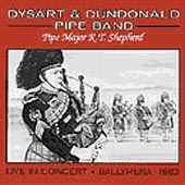 cover image for Dysart and Dundonald Pipe Band Live in Concert - Ballymena, Ireland