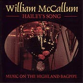 cover image for William McCallum - Hailey's Song