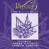 cover image for Piping Centre Recital Series - Angus MacColl and Gordon Duncan