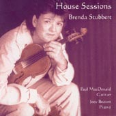 cover image for Brenda Stubbert - House Sessions
