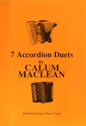 cover image for Calum Maclean - 7 Accordion Duets