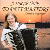 cover image for Deirdre Adamson - A Tribute To Past Masters
