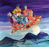 cover image for The Matt Seattle Band - Reivers Of The Heart