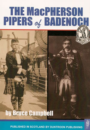 cover image for Bruce Campbell - The MacPherson Pipers Of Badenoch