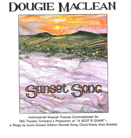 cover image for Dougie MacLean - Sunset Song