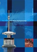 cover image for The World Pipe Band Championships 2009 vol 1 DVD