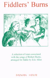 cover image for Eric Allan - Fiddlers' Burns