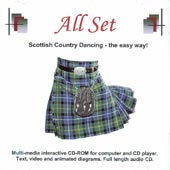 cover image for All Set - Scottish Country Dancing The Easy Way (CDROM)
