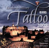 cover image for The Edinburgh Military Tattoo 2008 CD