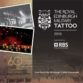 cover image for The Royal Edinburgh Military Tattoo 2010 CD
