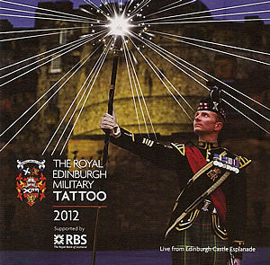 cover image for The Royal Edinburgh Military Tattoo 2012 CD