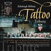 cover image for Edinburgh Military Tattoo - Tribute 1995-2005 CD