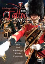 cover image for The Edinburgh Military Tattoo 2007 DVD