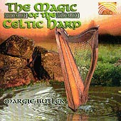 cover image for Margie Butler - The Magic of the Celtic Harp