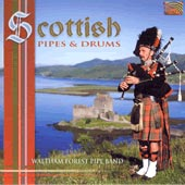 cover image for Waltham Forest Pipe Band - Scottish Pipes and Drums