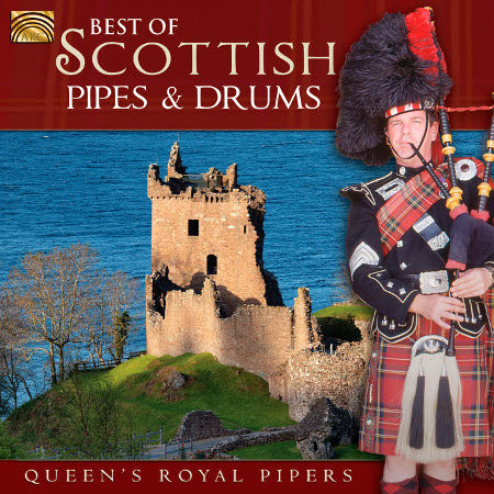cover image for Queen's Royal Pipers - Best Of Scottish Pipes And Drums
