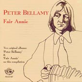 cover image for Peter Bellamy - Fair Annie