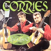 cover image for The Corries - Live A Live O