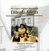 cover image for Margaret Bennett - Dileab Ailein (The Legacy Of Allan MacArthur)