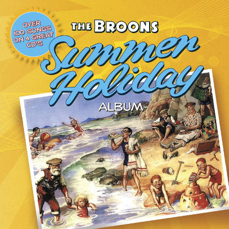 cover image for The Broons Summer Holiday Album