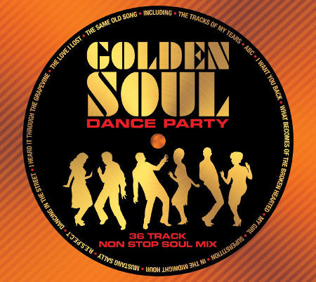 cover image for Golden Soul Dance Party