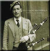cover image for William M MacDonald - Piobaireachd vol 3