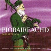 cover image for Barrie Orme - Piobaireachd (Old Settings) vol 1
