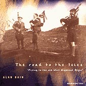 cover image for Alan Bain - Road To The Isles