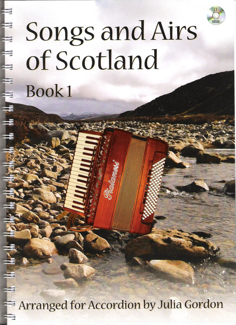 Julia Gordon - Songs and Airs of Scotland - Book 1
