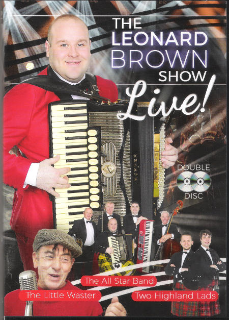 cover image for The Leonard Brown Show - Live!