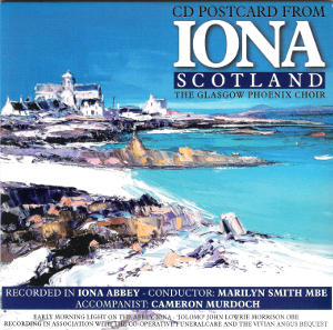 cover image for The Glasgow Phoenix Choir - CD Postcard From Iona Scotland