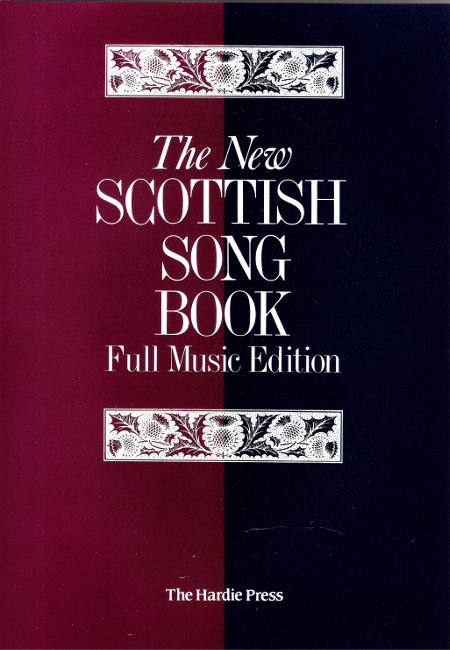 cover image for The New Scottish Song Book - Full Music Edition