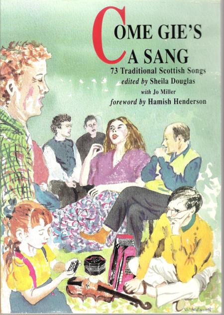 cover image for Come Gie's A Sang - Song Book