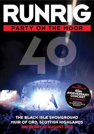 cover image for Runrig - Party On The Moor (2DVD)