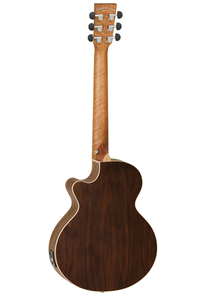 Discovery Black Walnut Travel Electro Acoustic DBTTCEBW